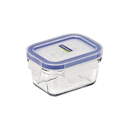 Glasslock Rectangular Tempered Glass Container 180ml