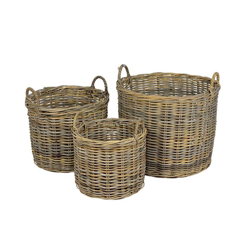 Laundry Basket w Handles Small