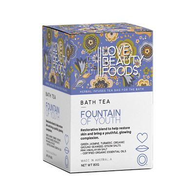 Fountain of youth bath tea 3 serves