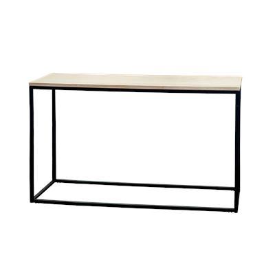 Hendrik Console Table Black & Oak 120cm