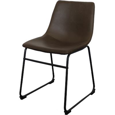 Harvey Dining Chair Dark Brown