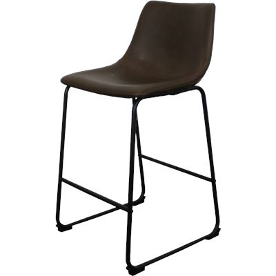 Harvey Bar Stool Dark Brown