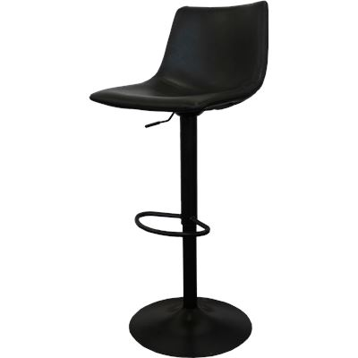 Harvey Bar Stool Gas Lift Black