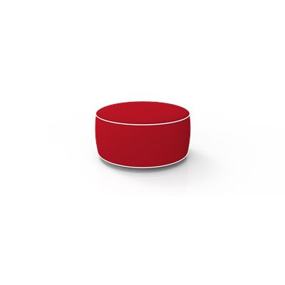 Inflatable Ottoman Red