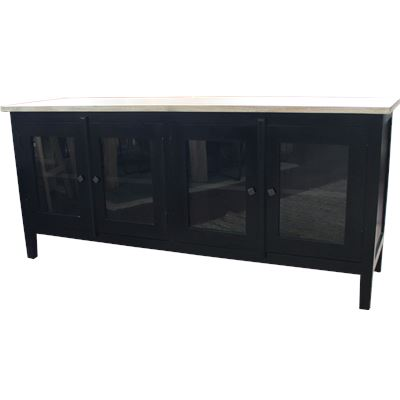 York Glass Buffet 180x50x80cm