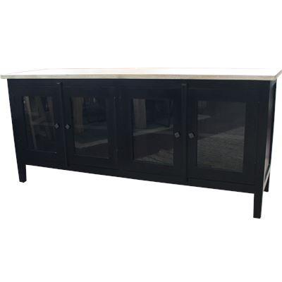 York Glass Buffet 180x50x80cm
