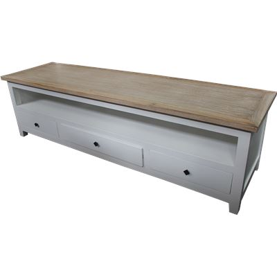 Chelsea TV Stand 3 Drawers 180x50cm