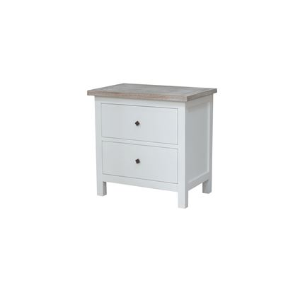 Chelsea Bedside 2 Drawers 70x45x69cm