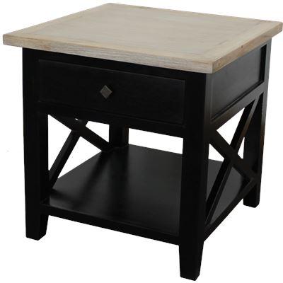 York Bedside Table 55cm