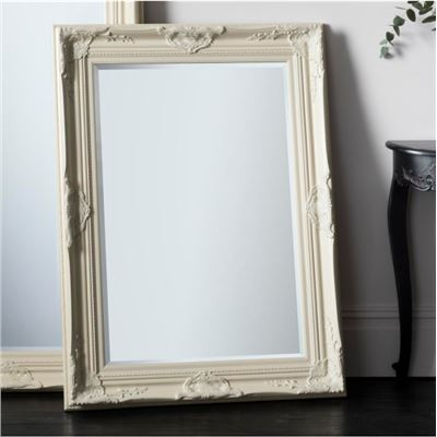 Harrow Rectangle Mirror Cream 1155x850mm