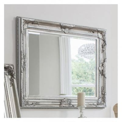 Harrow Rectangle Mirror Silver 1155x850mm