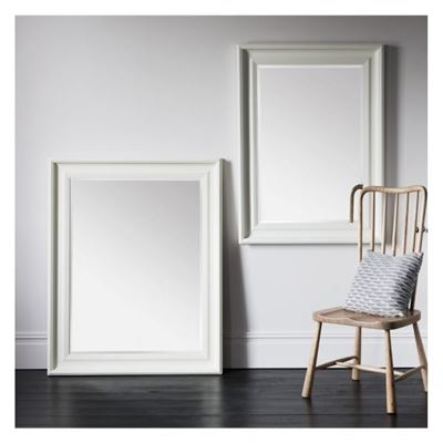 Burwell Mirror Cream 46x34'