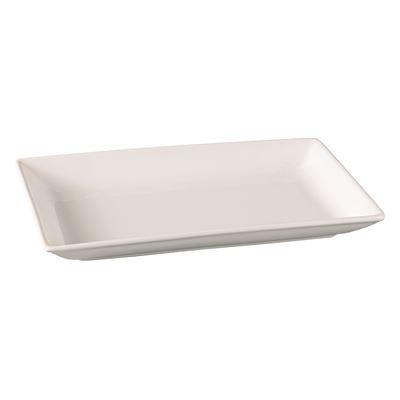 White Rectangular Platter 34x20cm