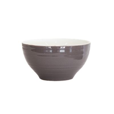 DO NOT USE Ceramic Bowl Charcoal 11cm Pk2