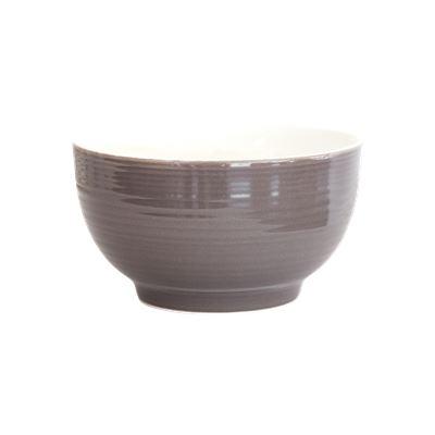DO NOT USE Ceramic Bowl Charcoal 13cm Pk2