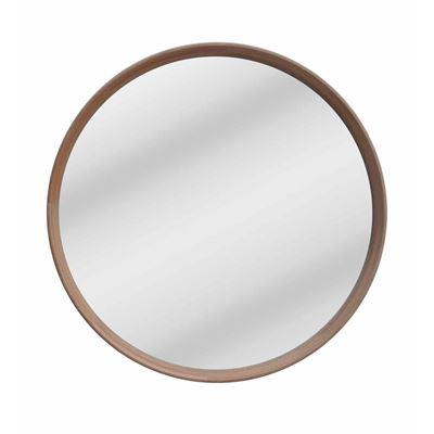 Oak Mirror Round 100x100cm