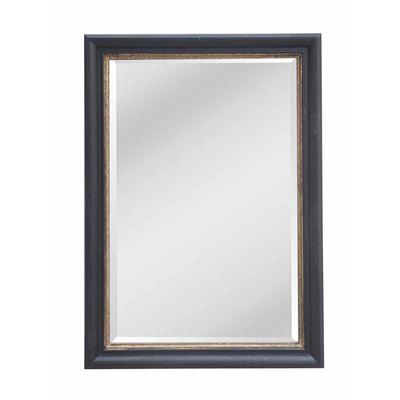 Classic Mirror Black & Gold 75x105cm