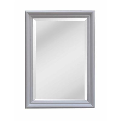 Classic Mirror White Wash 75x105cm