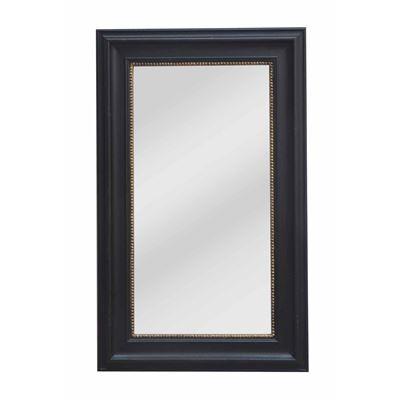 Classic Mirror Black & Gold 80x130cm