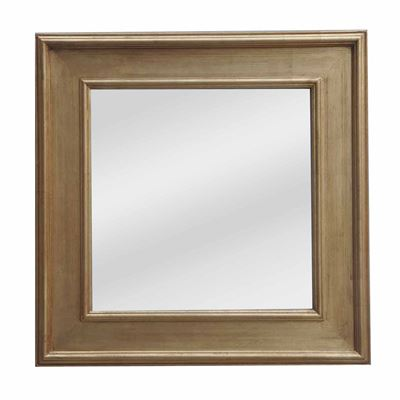 Classic Mirror Country Gold Square 103cm