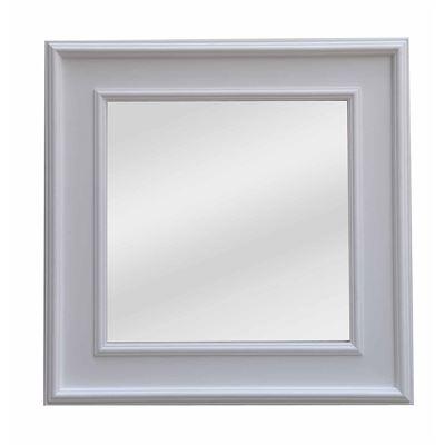 Classic Mirror White Wash Square 103cm