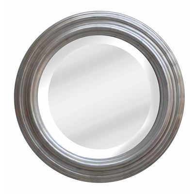Classic Mirror Country Silver Round 110cm