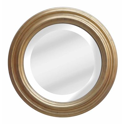 Classic Mirror Country Gold Round 110cm