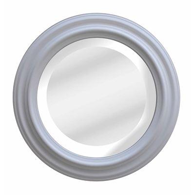 Classic Mirror White Wash Round 110cm