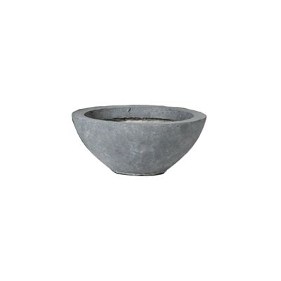 Clayfibre Low Bowl Grey 28x11cm
