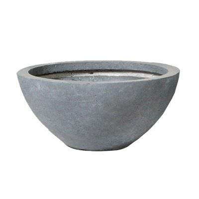 Clayfibre Low Bowl Grey 55x24cm