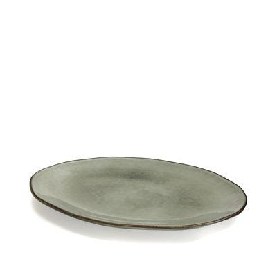 Nomad Oval Platter Grey 41x28cm