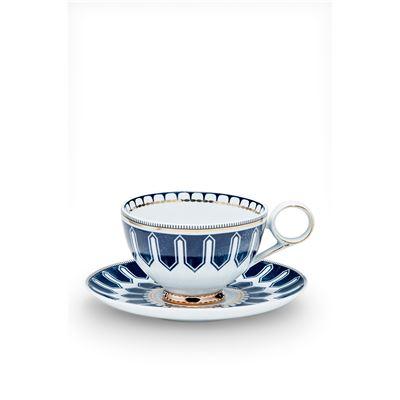 Palais Tea Cup & Saucer Deco 230ml/15cm