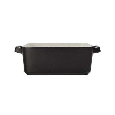 Epicurious Sq Baker 24X8Cm Black Gb