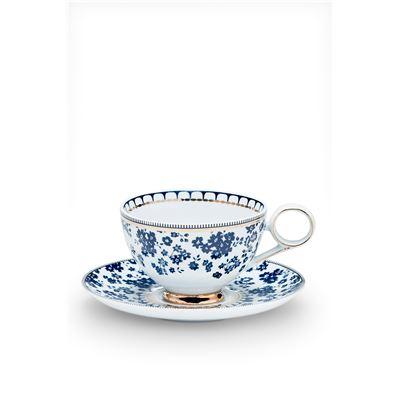 Palais Tea Cup & Saucer Flora 230ml/15cm
