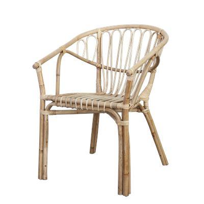 Alfresco Rattan Chair Natural