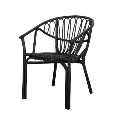 Alfresco Rattan Chair Black