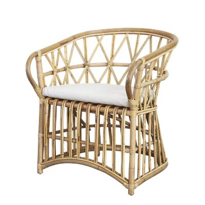 San Francisco Rattan Chair Natural