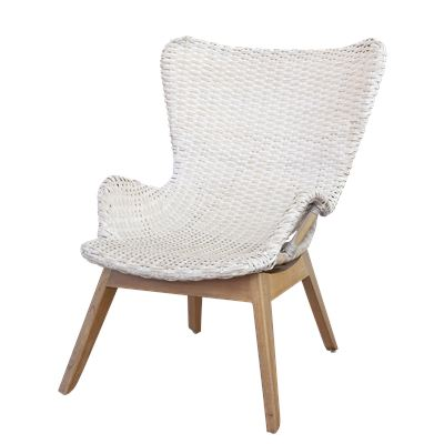 Manhattan Whitewash Rattan Chair