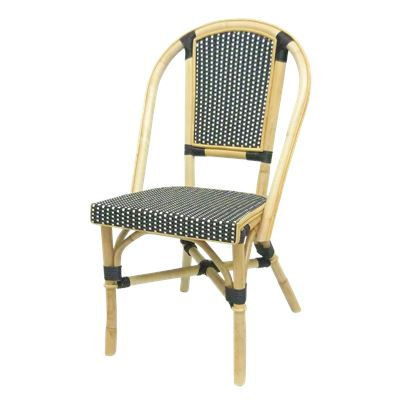 Bistro Rattan Chair Black