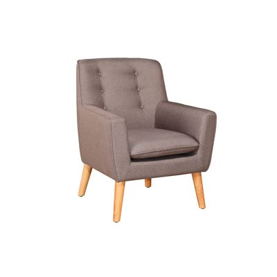 Metro Armchair Light Grey