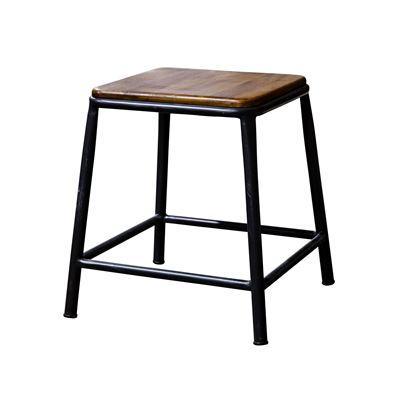 Tube Small Stool - Rusty