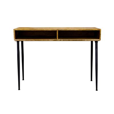 Havana Open Cubby Console Table