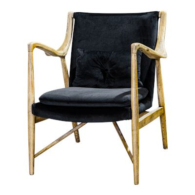 Lousia Occasional Chair Charcoal