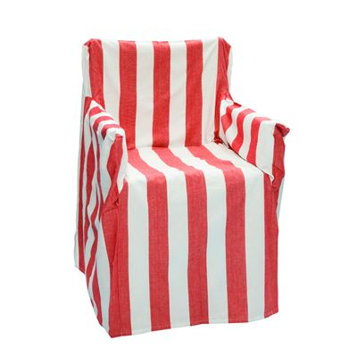 Alfresco Director Chair Covers Stripe Red