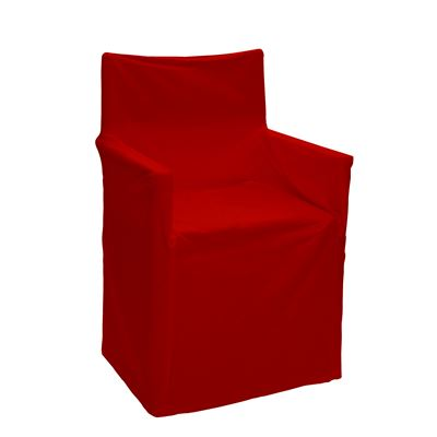 Alfresco Director Chair Covers Solid Red