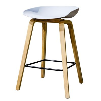 Williamsburg Barstool White