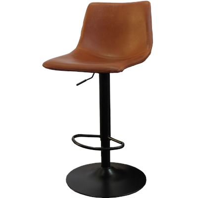 Harvey Bar Stool Gas Lift English Tan