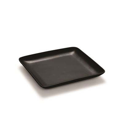 S&P Matte 38cm Black Square Platter