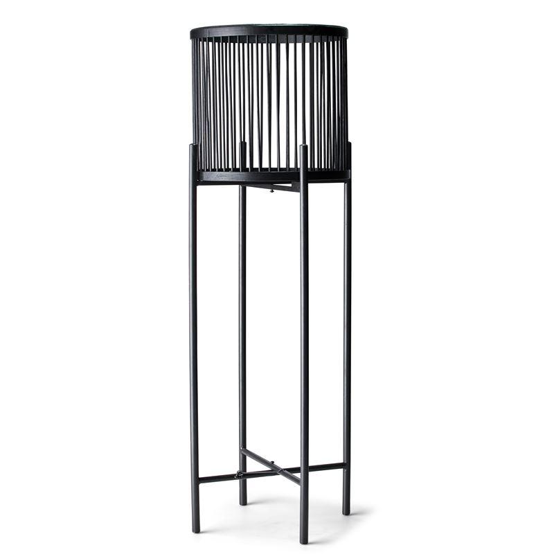 Rhythm Plant Stand Black 35x100cm