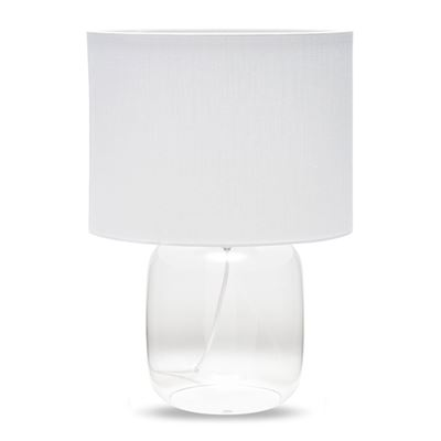 S&P CASPER TABLE LAMP WHITE46CM